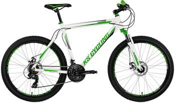 KS-CYCLING KS Cycling Mountainbike Hardtail 26 Compound weiß-gün
