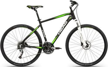 Head Crossrad I-Peak II, 27 Gang Shimano Acera RDM3000 Schaltwerk, Kettenschaltung 50 cm
