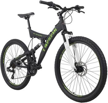 KS-CYCLING KS Cycling Mountainbike Fully 26 Zoll Topspin 21 Gänge