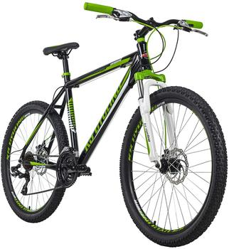 KS-CYCLING KS Cycling Mountainbike Hardtail 26 Compound schwarz-grün RH 51 cm