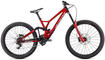 Specialized Demo Race (2021) brushed/red tint/white