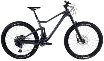 "Scott Genius 910 AXS 29"" (2021) granite black/brushed metall"