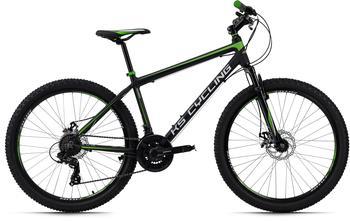 KS-CYCLING Xceed 26 Zoll RH 42 cm schwarz/grün