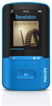 Philips GoGear Vibe 4GB SA4VBE04 blau