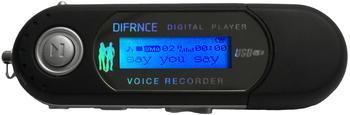 DIFRNCE MP 851 4GB schwarz