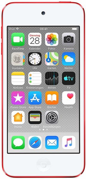 Apple iPod touch (7. Gen) 2019 Rot 32GB