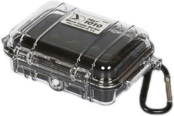 Peli 1010 Micro Case klar/schwarz