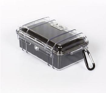 Peli 1050 Micro Case klar/schwarz
