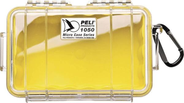 Peli 1050 Micro Case klar/gelb