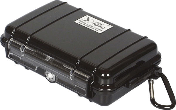 Peli 1040 Micro Case klar/schwarz