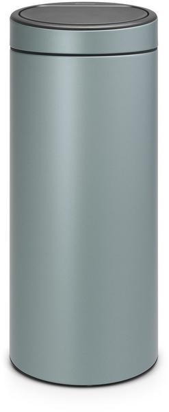 Brabantia Touch Bin Mülleimer Abfalleimer Papierkorb Metallic Mint 3 L
