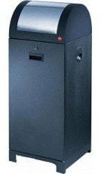 Hailo ProfiLine WSB design 70 Wertstoffbehälter schwarz Müllsackhalterung