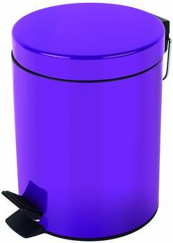 Spirella Treteimer Sydney 5 L violett