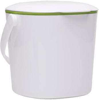 OXO Küchenabfalleimer 3 L weiß/grün