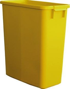 Graf Mehrzweck-Behälter eckig 90 L gelb