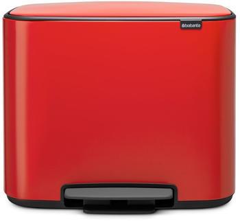 Brabantia Bo 3 x 11 L Passion Red