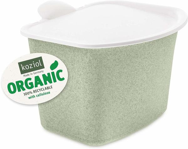 Koziol Bibio Bioabfallbehälter 3L grün/weiß
