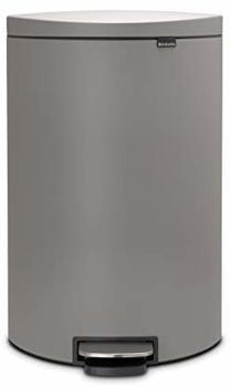 brabantia-treteimer-flatback-40-l-silent-serie-mineral-concrete-grey
