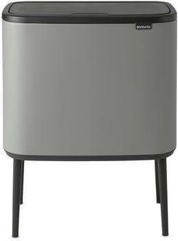 brabantia-bo-touch-bin-3x11-liter-mit-3-kunststoffeinsaetzen-mineral-concrete-grey