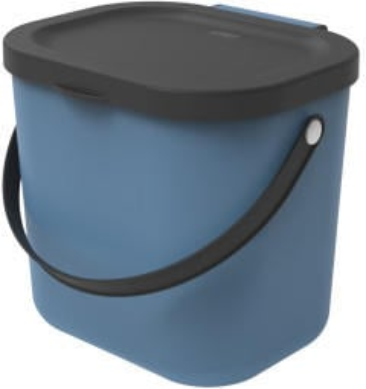 Rotho Albula Biomülleimer 6L blau