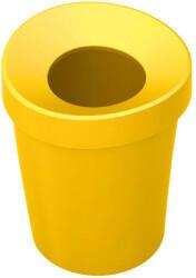 Vitra Happy Bin Papierkorb small gelb