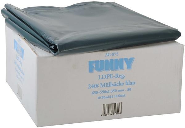 Funny LDPE-Regenerat AG-875 Müllsäcke (100 Stück)