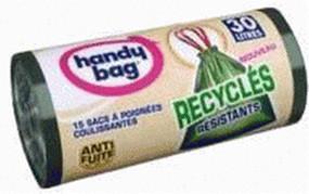 Handy Bag Recycling-Müllbeutel 30 L (15 Stk.)