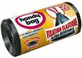 Handy Bag Zugband-Müllbeutel 30 L (15 Stk.)
