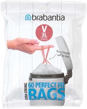 Brabantia Perfect Fit V Müllbeutel 3L (60 Stk.)
