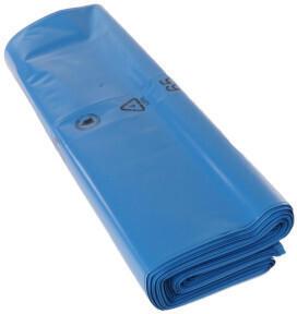 Deiss Premium Abfallsack 180 L blau 100 my (100 Stk.)
