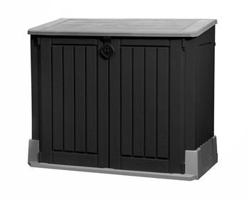 Keter Store It Out Midi 2 x 120 Liter schwarz