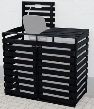 promex-muelltonnenbox-2-x-120-liter