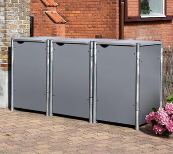 globel-industries-muelltonnenbox-3-x-240-liter-grau