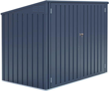 Westmann Mülltonnenbox 2 x 240 Liter anthrazit