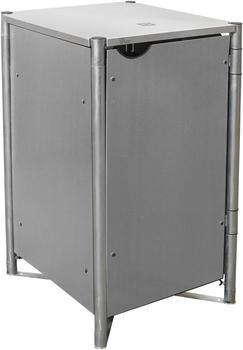 Globel Industries Mülltonnenbox 1 x 240 Liter grau