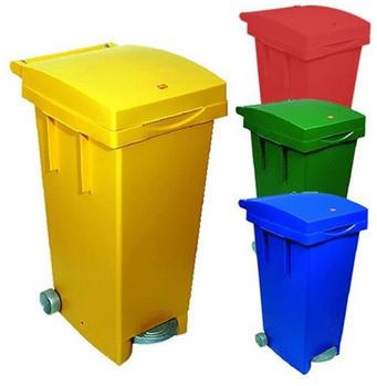 ICS Separate Waste Bin 80 Lt Blue