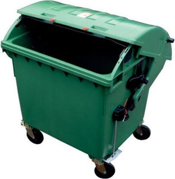OPV Container 1,1 cbm Runddeckel grün (83542)