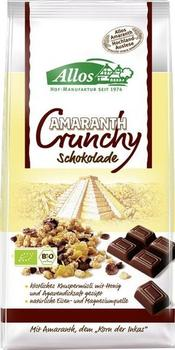 Allos Amaranth-Crunchy Schokolade (400 g)