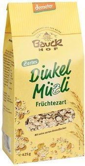 Bauckhof Dinkel Müzli Früchtezart (425 g)