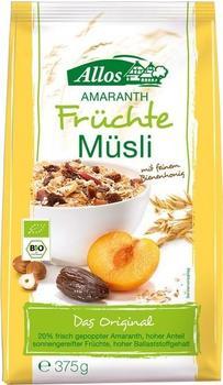 Allos Amaranth Früchte Müsli (375 g)