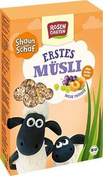 Rosengarten Shaun das Schaf Erstes Müsli Milde Früchte (375g)