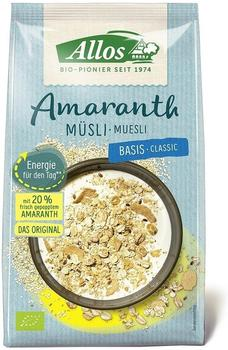 Allos Amaranth Basis Müsli (375g)