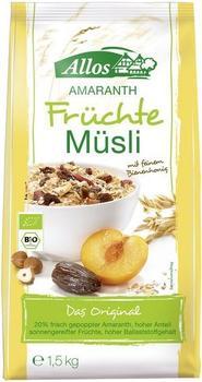 Allos Amaranth Früchte Müsli (1500 g)