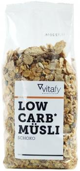 Vitafy Essentials Low Carb Müsli Schoko 525g