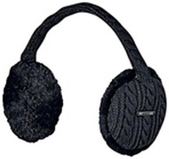 Barts Monique Earmuffs dark heather grau