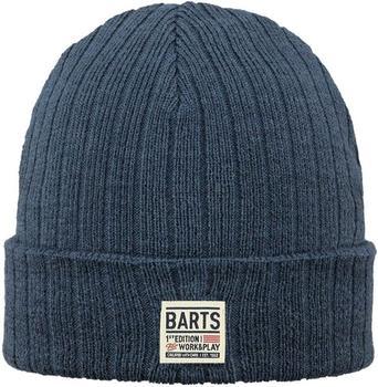 Barts Parker Beanie navy blau