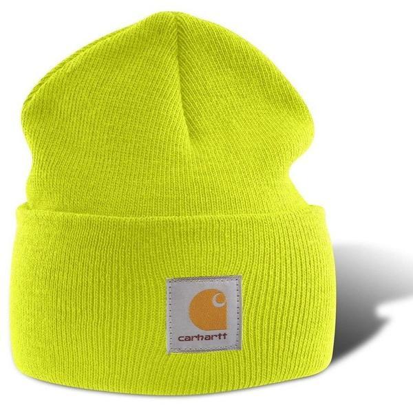 Carhartt Acrylic Watch Hat A18 bright lime