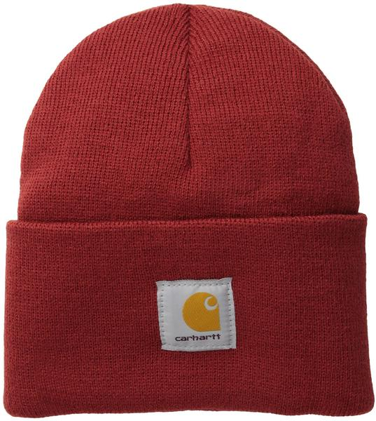 Carhartt Acrylic Watch Hat A18 dark crimson