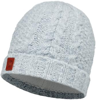 Buff Knitted & Polar Hat Amby white
