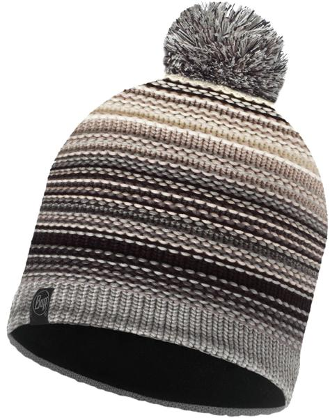 Buff Knitted & Polar Hat Nepper grey